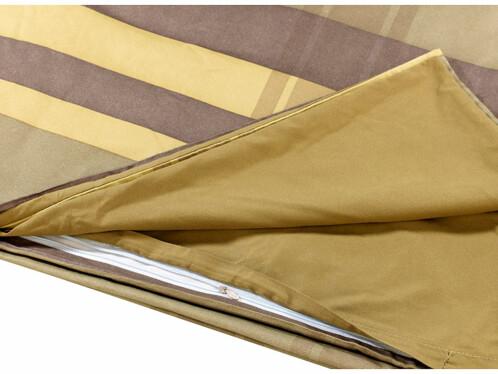 acheter parure de lit sans repassage jaune vert olive. Black Bedroom Furniture Sets. Home Design Ideas