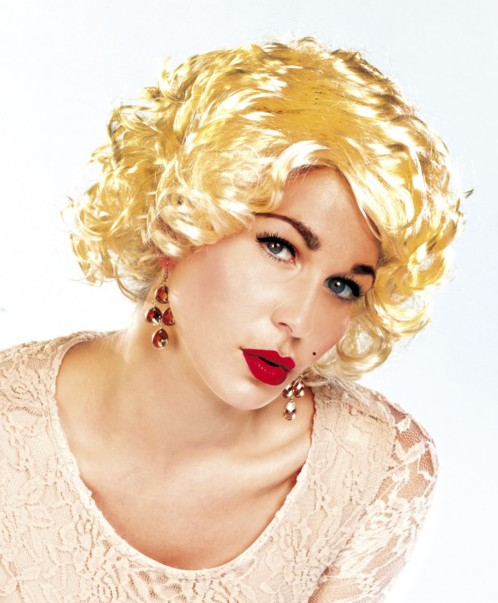 Perruque pin-up ''Marylin''