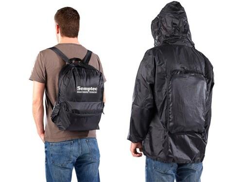 Sac à dos avec coupe-vent intégré - Taille XL