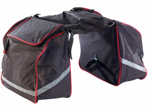 Sacoche vélo double pour porte-bagages
