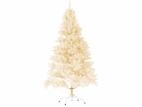 Sapin de Noël artificiel blanc avec 1071 branches - 180 cm