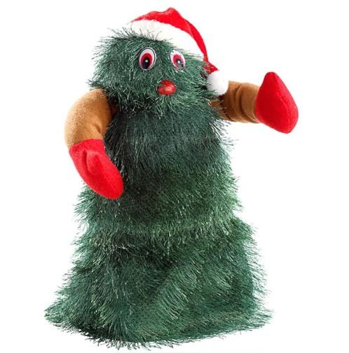 Sapin de Noël chantant et dansant ''SwingingXmasTree'' 27 cm