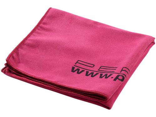Serviette de bain microfibre 80 X 40 cm rouge