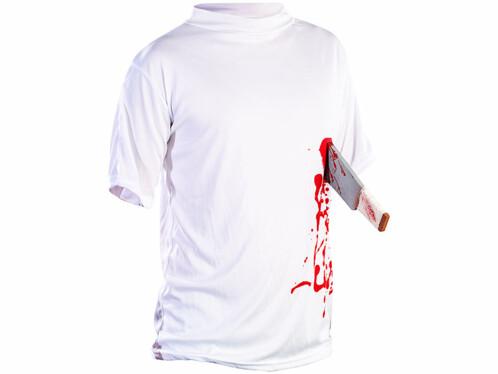 T-Shirt ''Machette dans le ventre'' - taille XXL