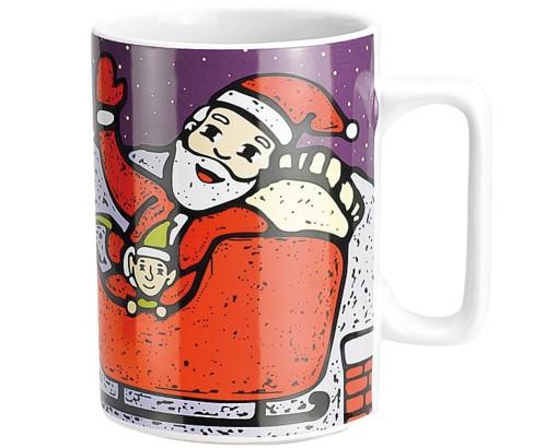 Tasse musicale de Noël ''Jingle Bells''