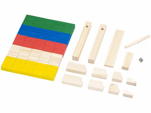 Kit de dominos colorés 263 pièces