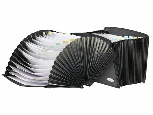 Lot de 2 porte-documents XCase avec 25 compartiments.