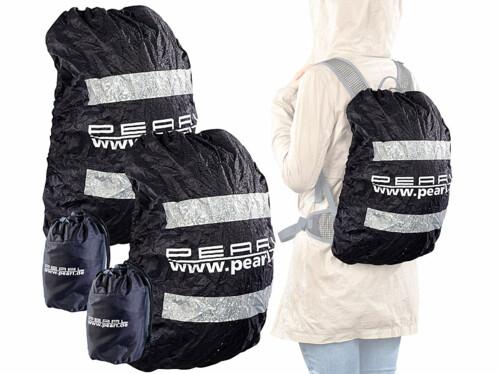 2 protections anti-pluie pour sacs à dos