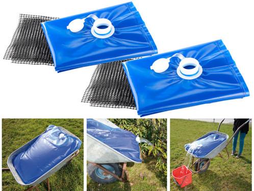 Lot de 2 sacs à eau résistant de 80 L Semptec.