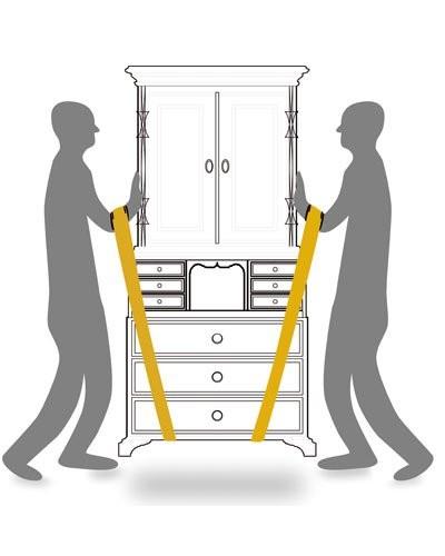 Comment Porter Une Machine À Laver Avec Des Sangles