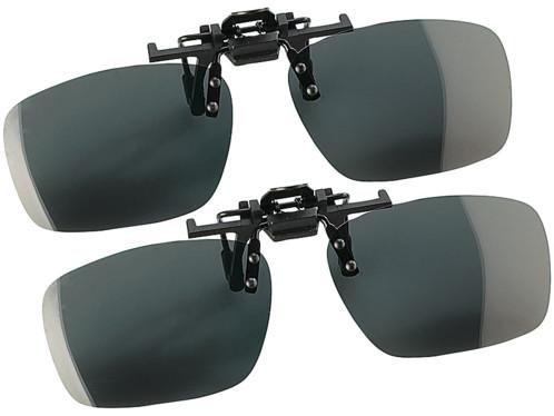 2 verres de lunettes polarisés amovibles ''Fashion Line''