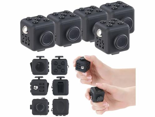 """5 dés antistress """"Fidget Cube"""""""