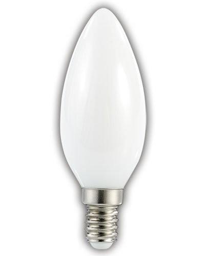 Ampoule bougie à LED SMD - E14 - 3W - blanc