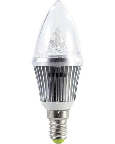 Ampoule bougie à LED SMD - E14 - 4W - blanc