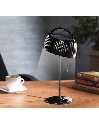 achat vente lampe de table solaire led pas cher. Black Bedroom Furniture Sets. Home Design Ideas