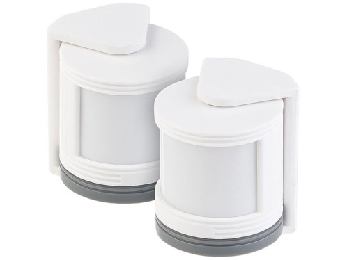 2 mini détecteurs de mouvement PIR pour système d'alarme XMD-3000.avs
