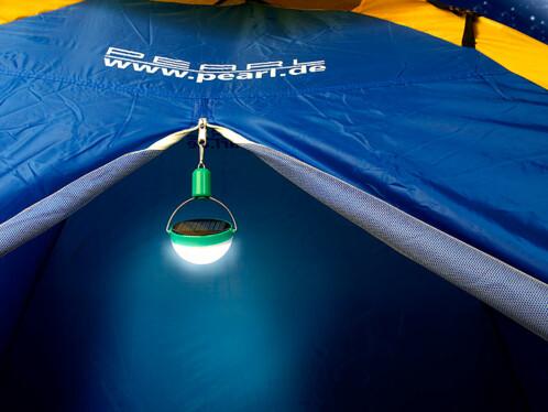 Mini lampe de camping solaire à LED, 600 mAh