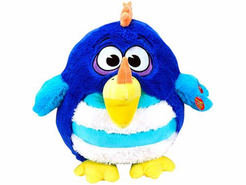Peluche sonore Kookoo Birds - bleu / turquoise