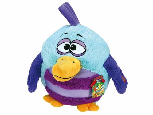 Peluche  sonore Kookoo Birds - turquoise / violet