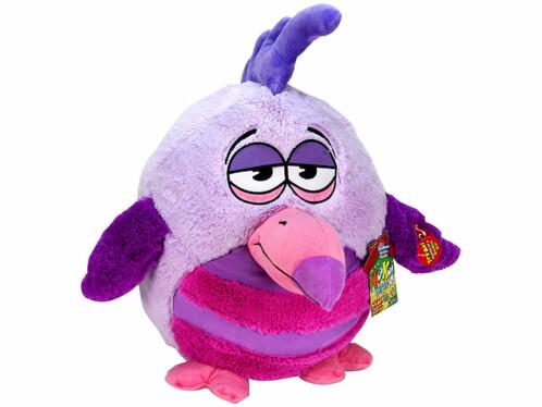 Peluche sonore Kookoo Birds - violet / lilas