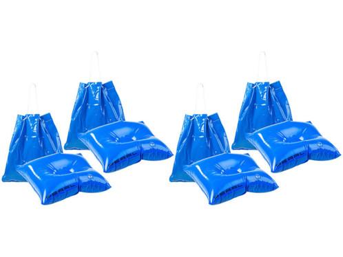 4 sacs de plage gonflables 2 en 1