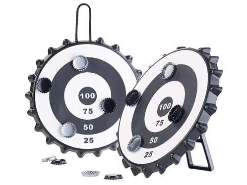 2 jeux de fléchettes magnétiques pour capsules