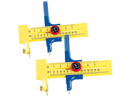 2 outils pour découpe circulaire