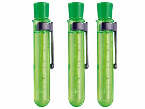 3 fioles pour faire des bulles de savons super résistantes