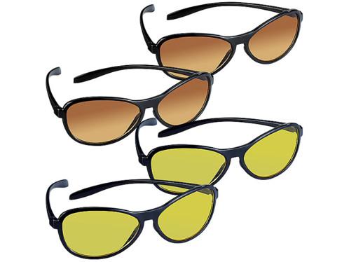 Lot de 4 lunettes de soleil polarisées Pearl.