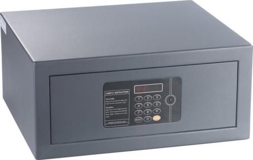 Coffre-fort en acier avec serrure à code numérique et écran LED