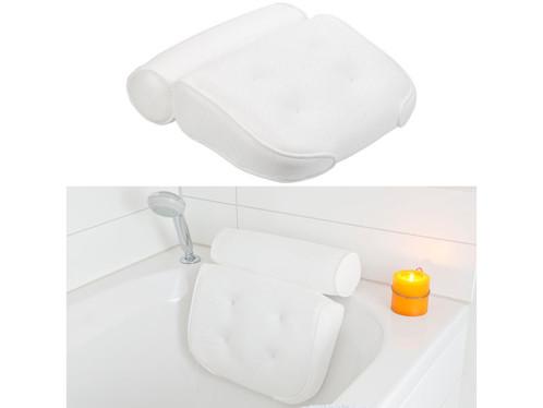 Coussin de baignoire avec surface en maille et ventouses