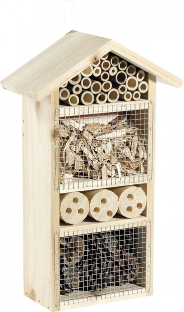Hôtel à insectes pour jardin, cour, balcon ou terrasse - Moyen