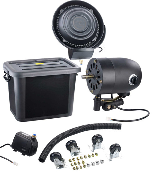 pièces de remplacement neuves moteur pompe rotor vaporisateur bac reservoir pour ventilateur pro sichler
