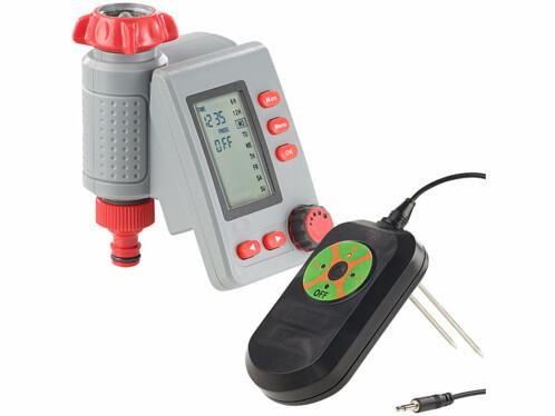 Programmateur d'arrosage BWC-100 avec capteur d'humidité