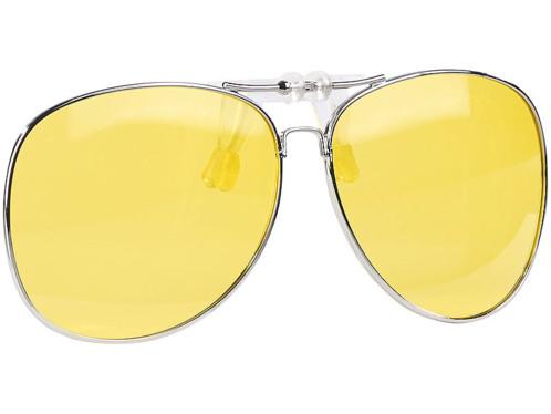 ca954b6dc37272 Sur-lunettes à clip pour conduite de nuit (contrastes et ...