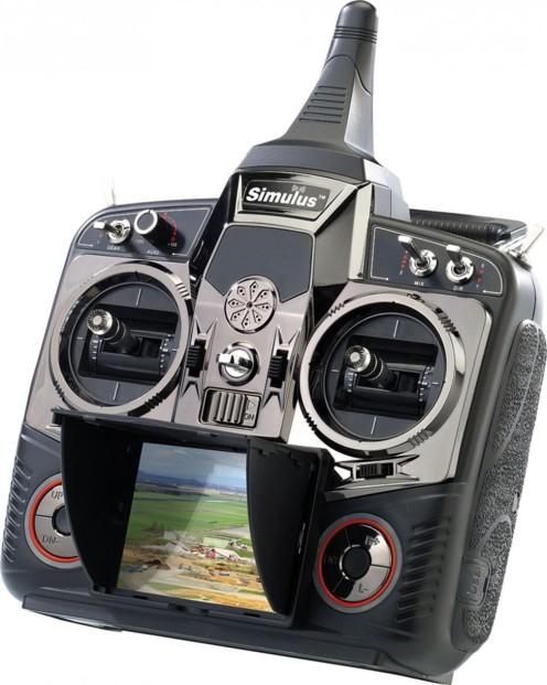 Télécommande DEVO-F7 pour quadricoptère Simulus