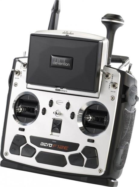 Télécommande sans fil ''DEVO F12E'' 5,8 GHz pour ''QR-X350.PRO''