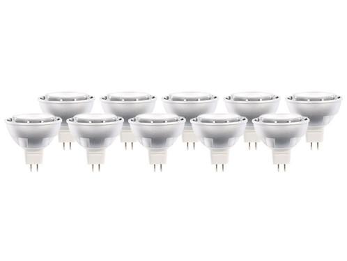 10 spots à LED GU 5.3 High Power - Blanc