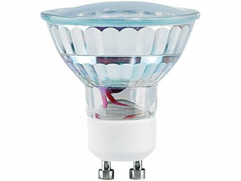 Ampoule LED GU10 blanc chaud 1,5W