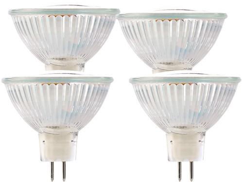 4 Ampoules LED GU5.3, 3 W, 12 V, 250 lm -  blanc neutre