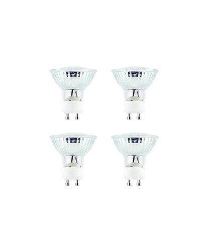 4x ampoule 60 LED SMD à intensité réglable GU10 blanc chaud