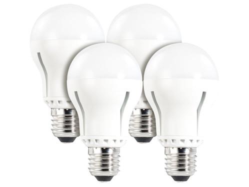 4 ampoules LED supra-puissantes 12 W, culot E27, blanc neutre