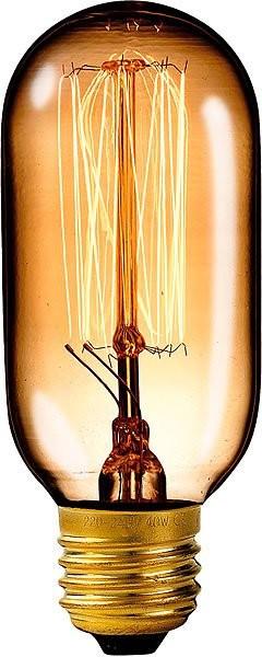Ampoule à filament, look rétro XL - forme Bulbe