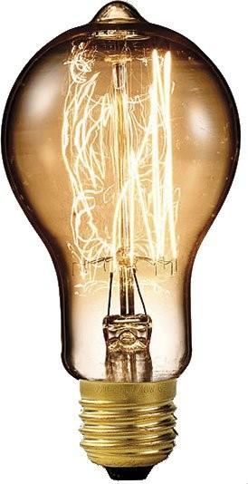 Ampoule Déco À Filament (Incandescence), E27, Verre Fumé | Pearl.Fr