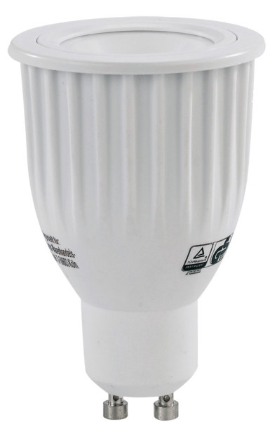 spot led cob 16 couleurs GU10 avec telecommande Luminea