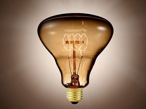 Ampoule rétro à incandescence E27 format XXL - forme Triangulaire