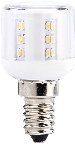 Mini ampoule LED E14, A+, 3 W, 360°, 260 lm, blanc chaud