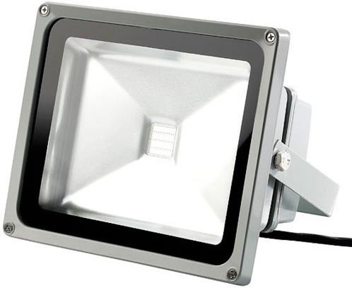 Projecteur étanche IP65 à LED 30 W RGB avec connecteur