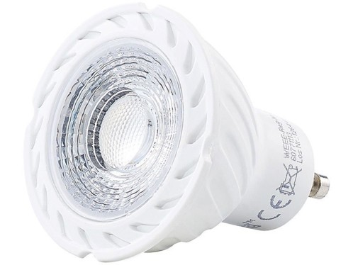 Spot à LED COB GU10 - Blanc - High Power