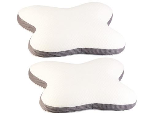 2 coussins de soutien ergonomique à mémoire de forme